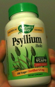 Nature's Way Psyllium Husk Front Label